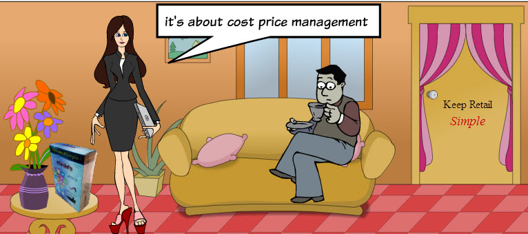 cost price management in Candela RMS